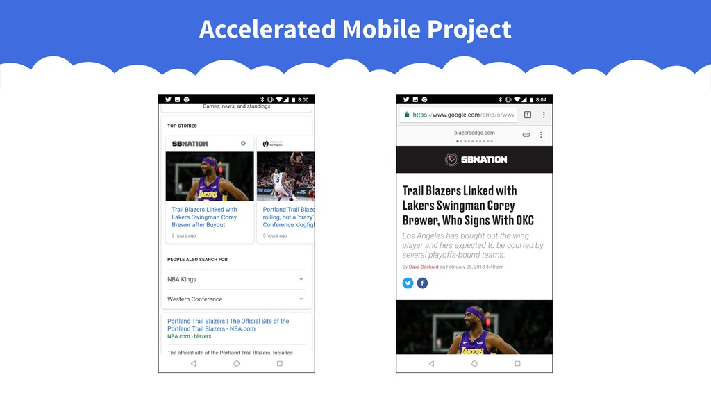 Accelerated Mobile Project