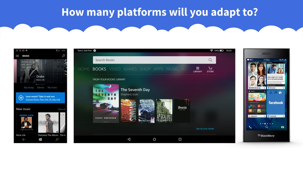 How many platforms will you adapt to?