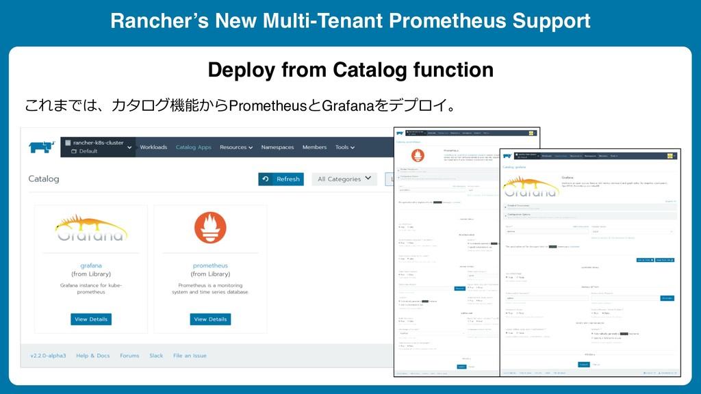 Rancher's New Multi-Tenant Prometheus Support ...