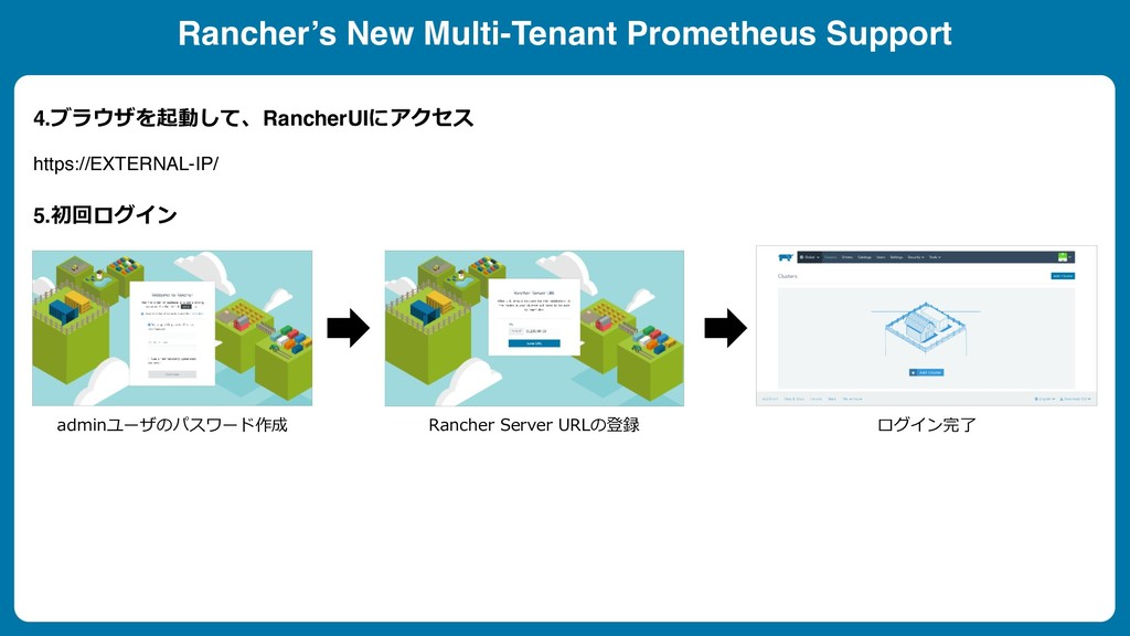 4.RancherUI  https://EXTERNAL-IP/...