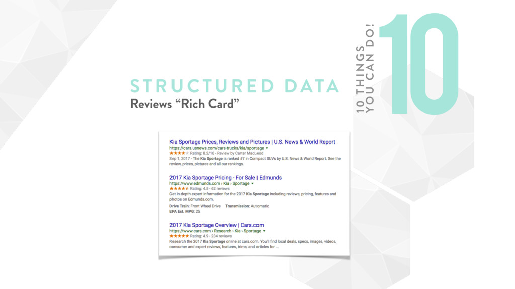"STRUCTURE D DATA Reviews ""Rich Card"" 10 10 TH I..."