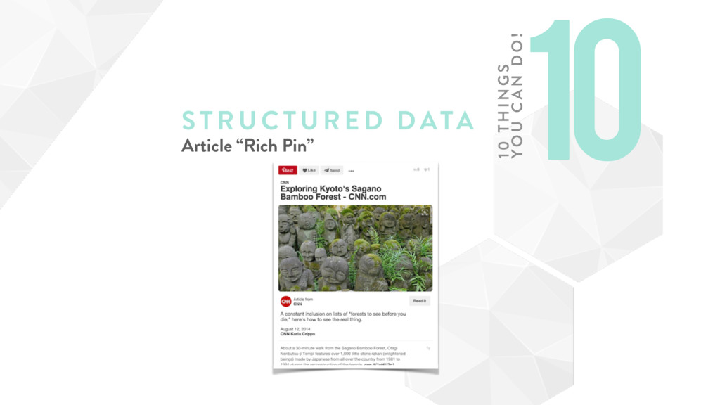 "STRUCTURE D DATA Article ""Rich Pin"" 10 10 TH IN..."