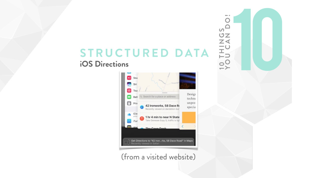 STRUCTURE D DATA iOS Directions (from a visited...