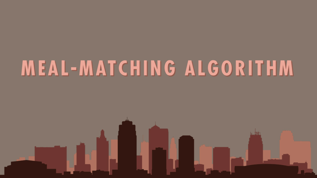 MEAL-MATCHING ALGORITHM