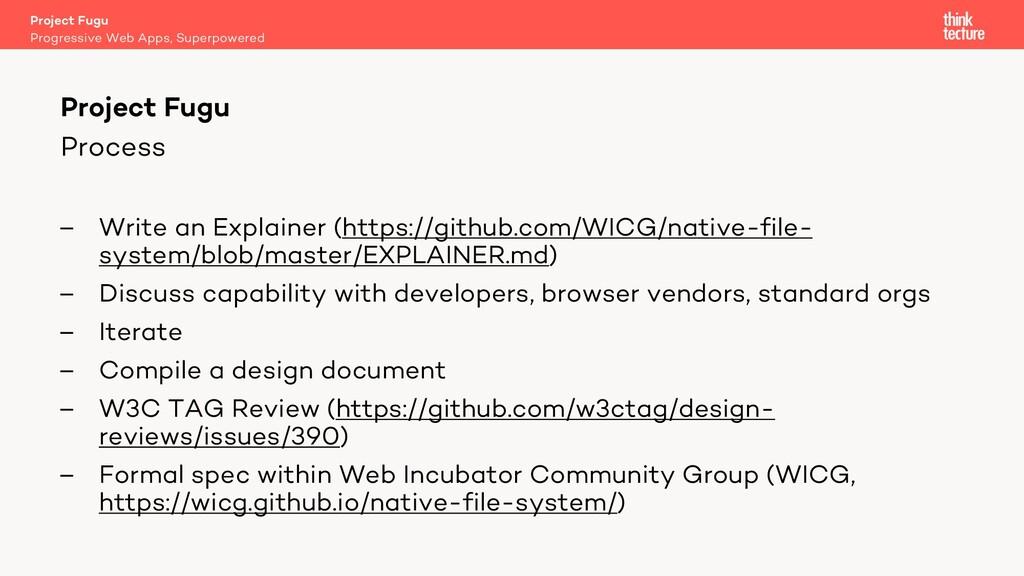 Process – Write an Explainer (https://github.co...