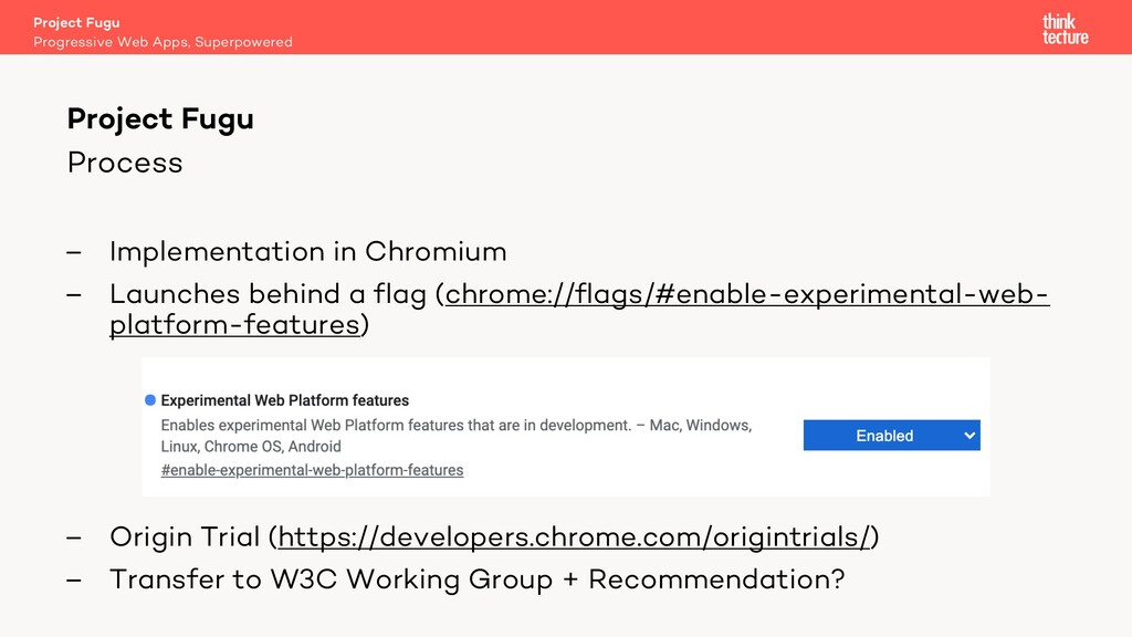 Process – Implementation in Chromium – Launches...