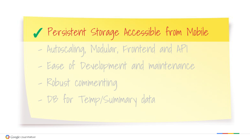 Persistent Storage Accessible from Mobile - Aut...
