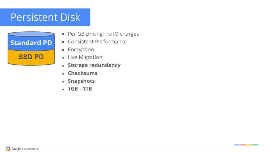 ● Per GB pricing; no IO charges ● Consistent Pe...