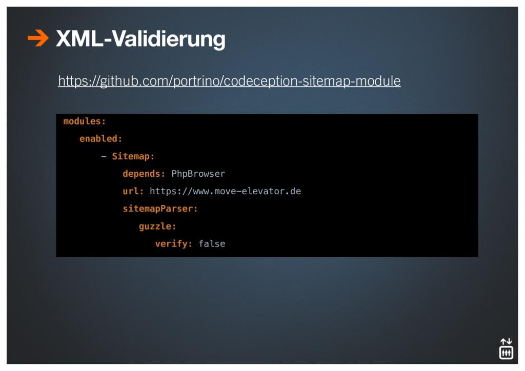 https://github.com/portrino/codeception-sitemap...