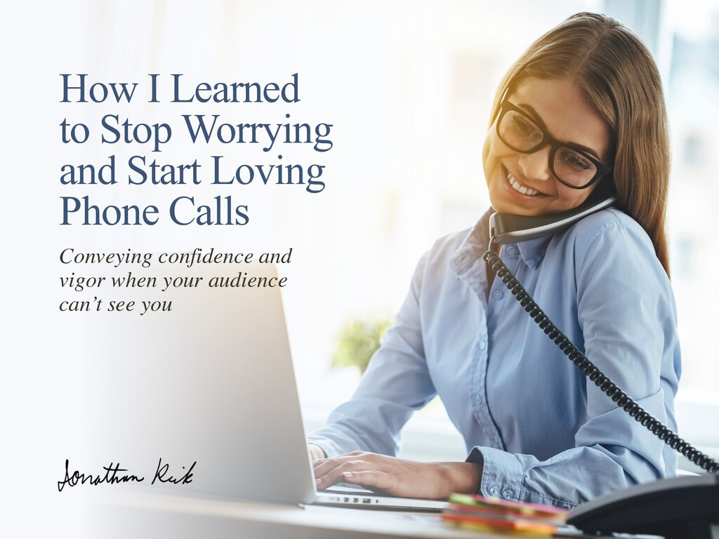 How I Learned to Stop Worrying and Start Loving...