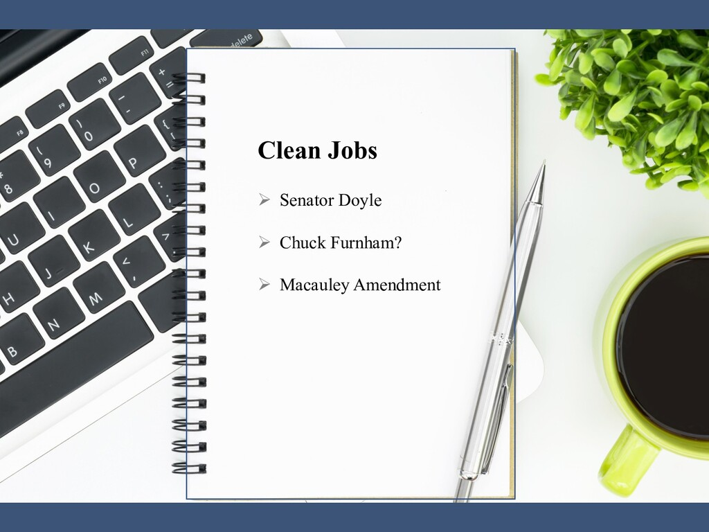 The Office of the Vice President Clean Jobs Apr...