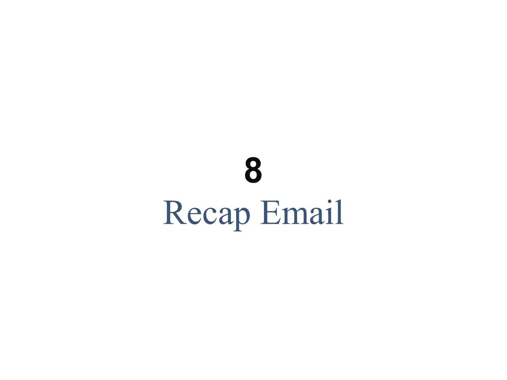 Hi Leon, This email confirms your to-dos as a r...