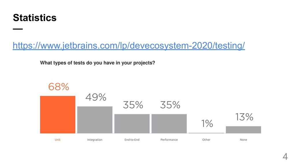 Statistics — https://www.jetbrains.com/lp/devec...