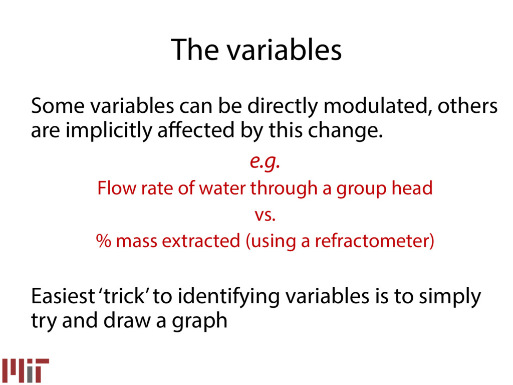 Some variables can be directly modulated, other...