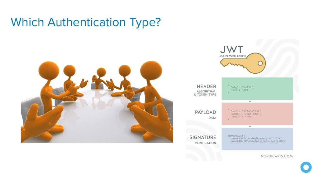 Which Authentication Type?