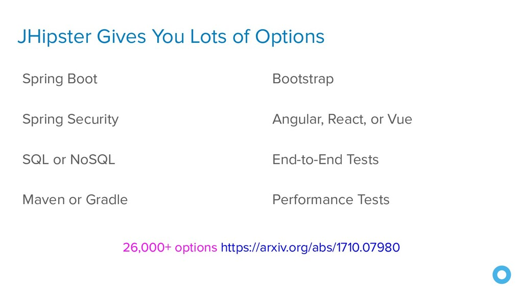 JHipster Gives You Lots of Options Spring Boot ...