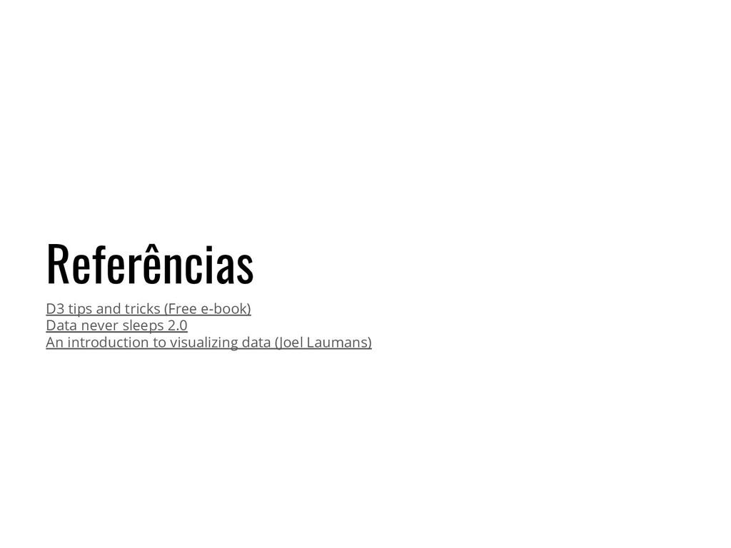 Referências D3 tips and tricks (Free e-book) Da...