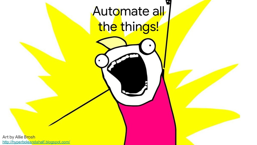 crwilcox @chriswilcox47 Automate all the things...