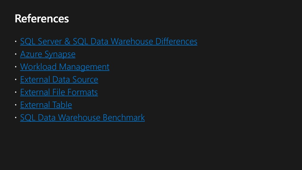 SQL Server & SQL Data Warehouse Differences Azu...