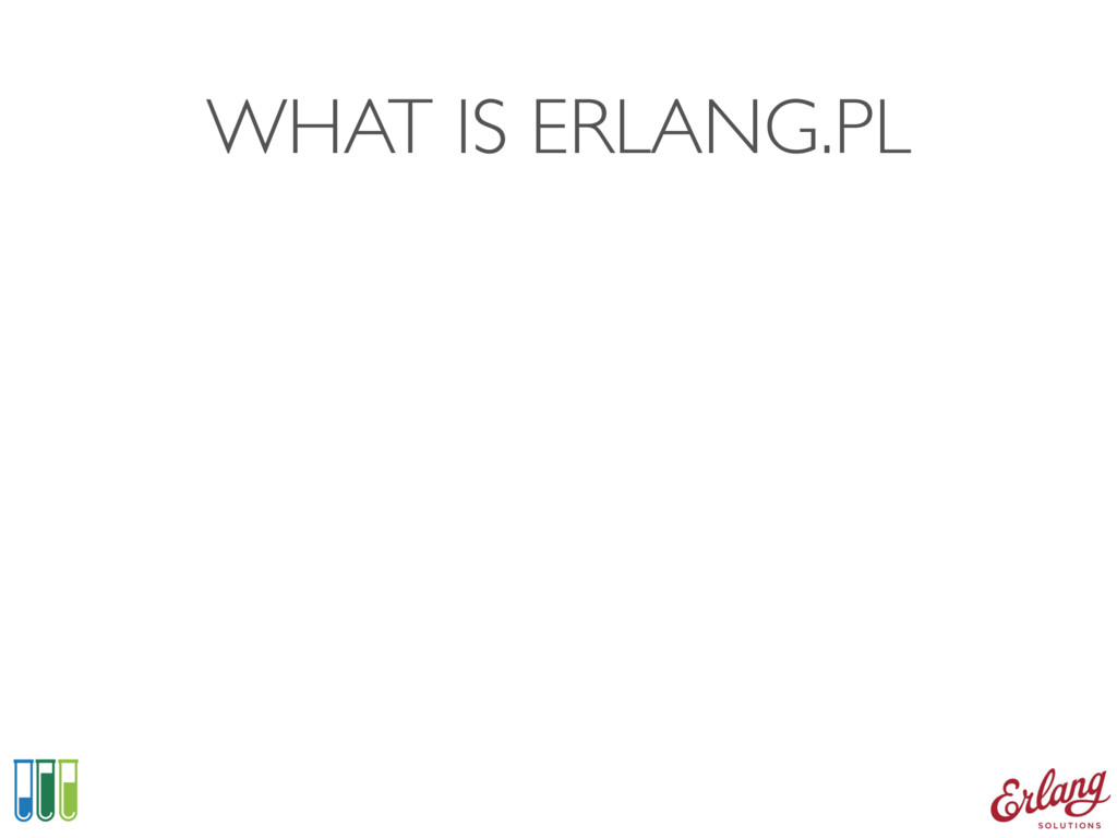 WHAT IS ERLANG.PL