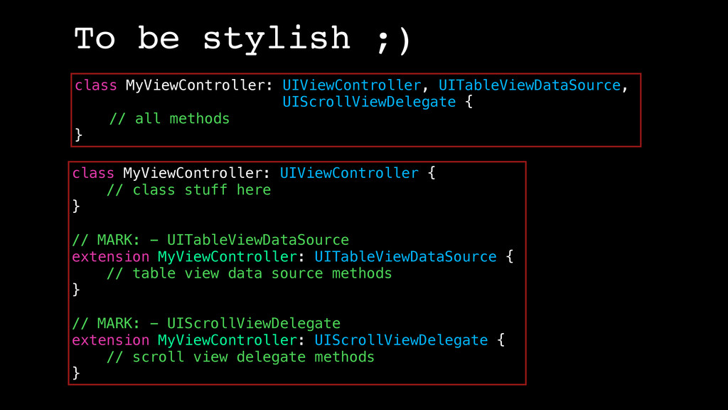 class MyViewController: UIViewController { // c...