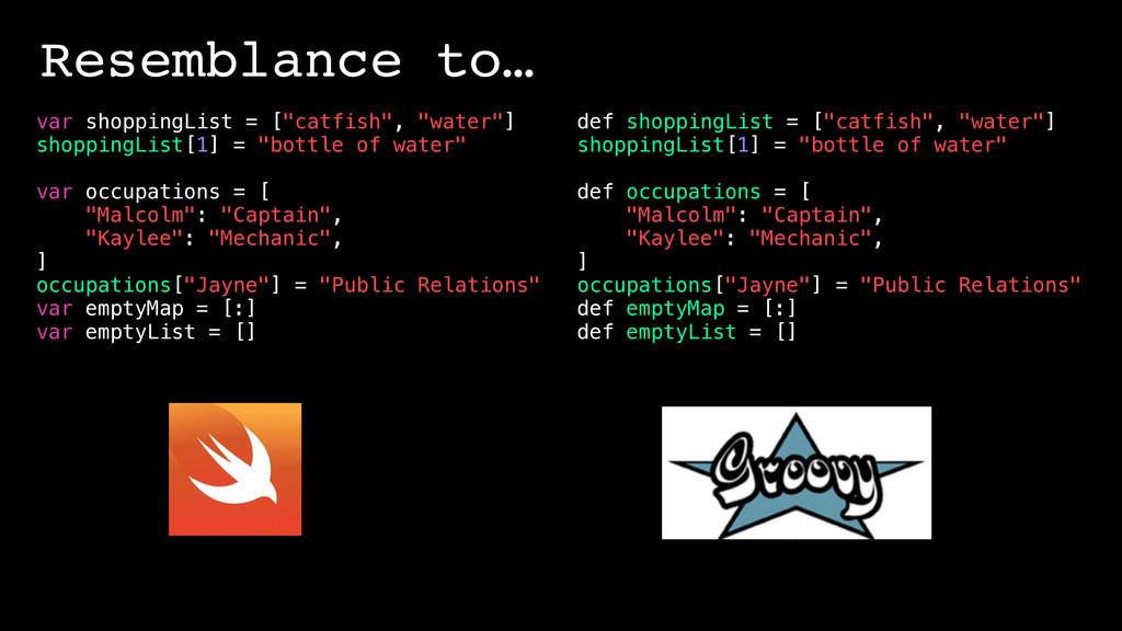 """var shoppingList = [""""catfish"""", """"water""""] shoppin..."""