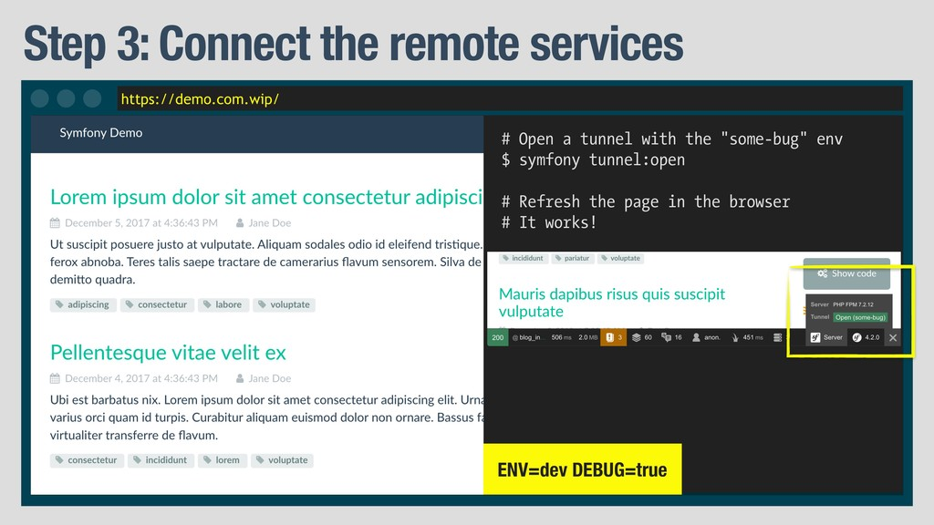 https://demo.com.wip/ Step 3: Connect the remot...