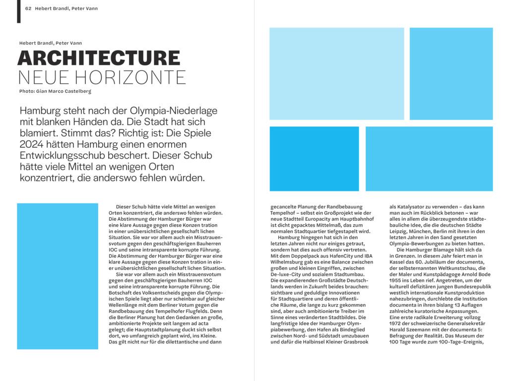 Hebert Brandl, Peter Vann ARCHITECTURE NEUE HOR...