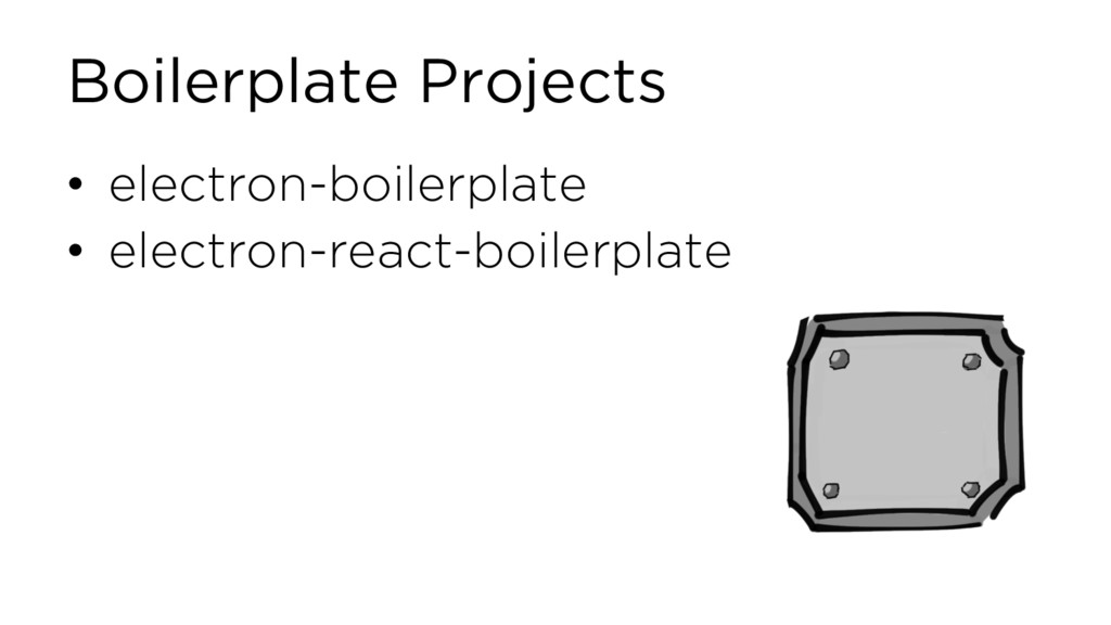 Boilerplate Projects • electron-boilerplate • e...