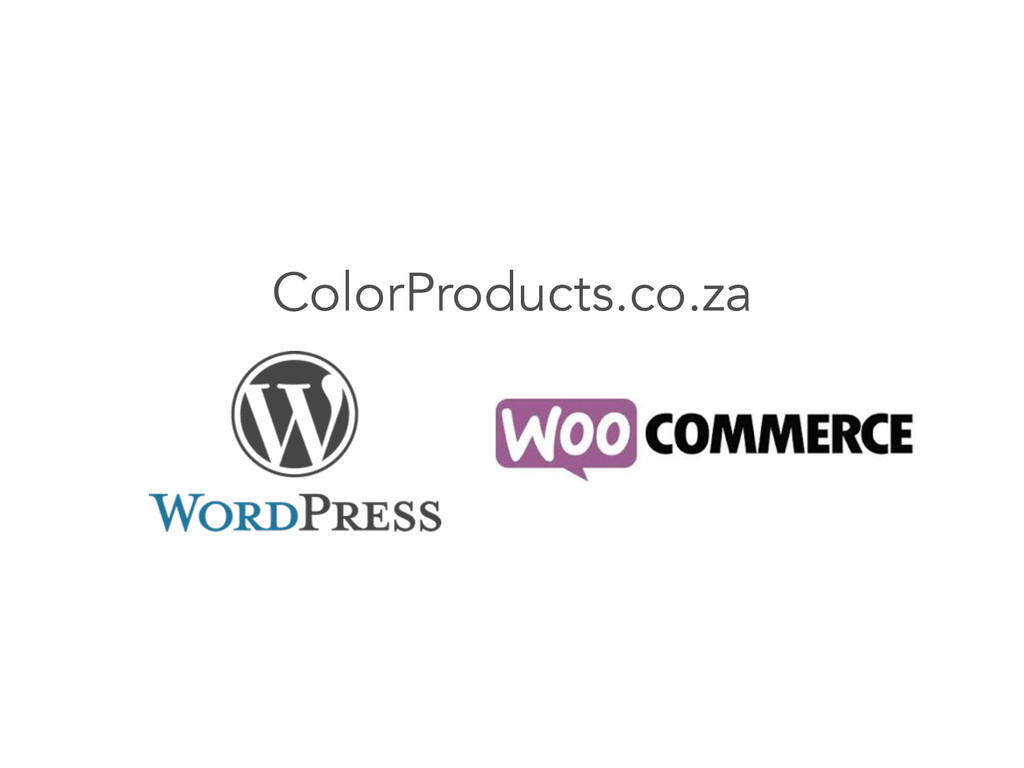 ColorProducts.co.za