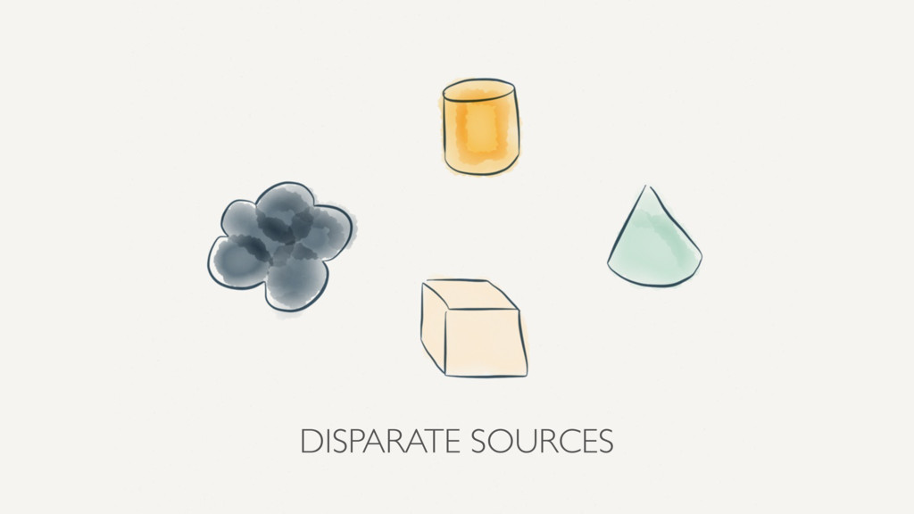 DISPARATE SOURCES