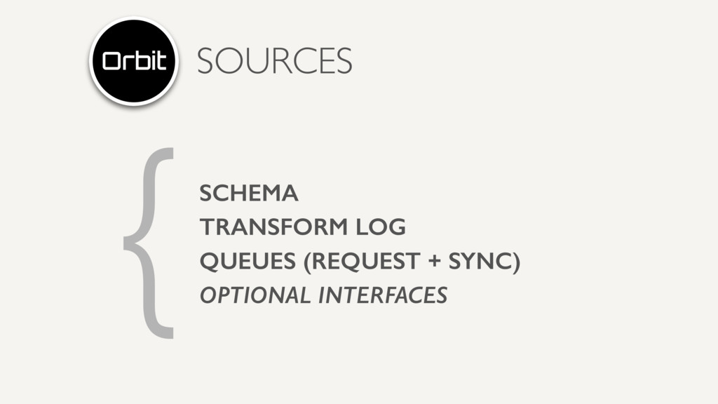 { SOURCES SCHEMA TRANSFORM LOG QUEUES (REQUEST ...