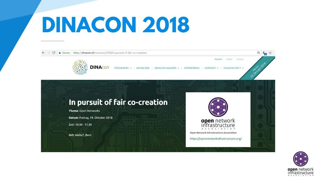 DINACON 2018
