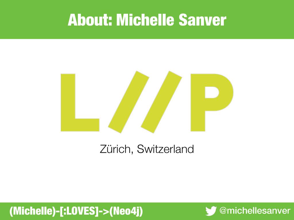 About: Michelle Sanver @michellesanver Zürich, ...