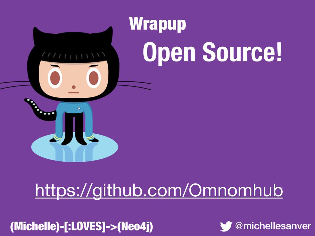 Wrapup @michellesanver Open Source! ! ! ! ! ! h...