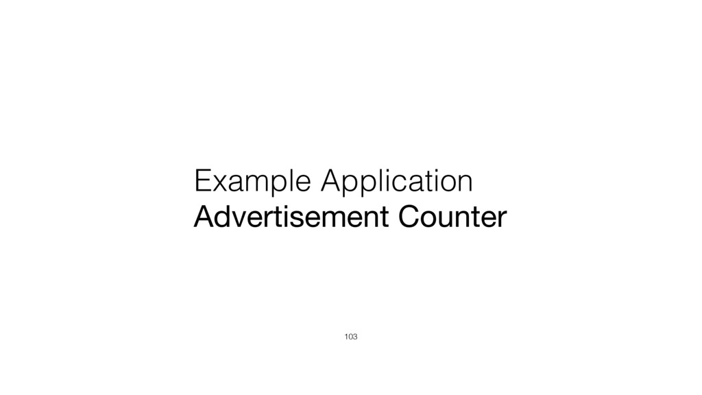 Example Application Advertisement Counter 103