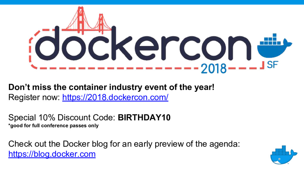 Don't miss the container industry event of the ...