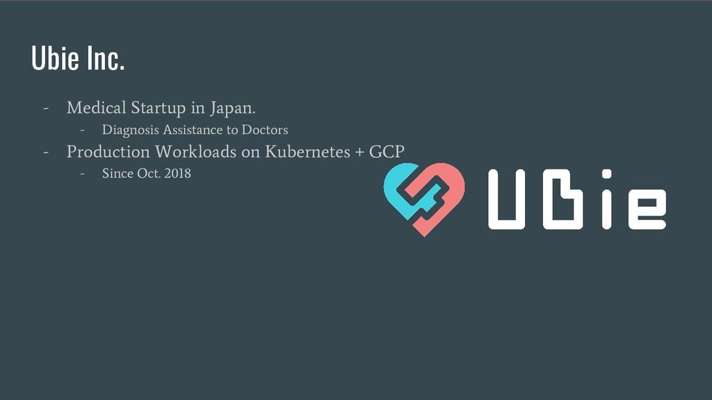Ubie Inc. - Medical Startup in Japan. - Diagnos...