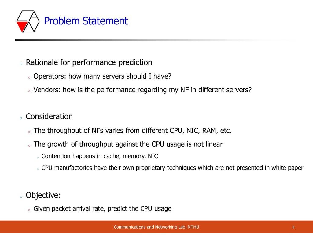 Problem Statement 5 Communications and Networki...