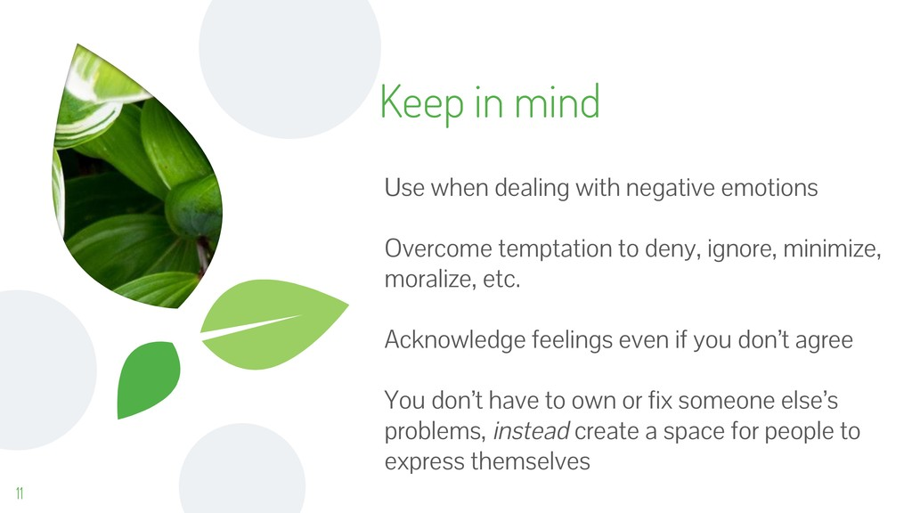 Keep in mind 11 Use when dealing with negative ...