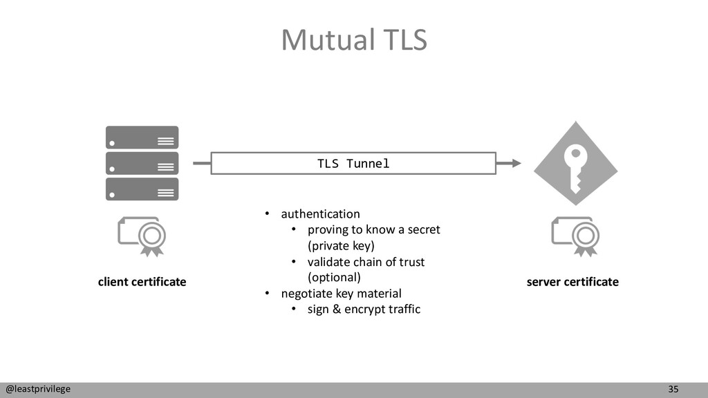 35 @leastprivilege Mutual TLS TLS Tunnel server...
