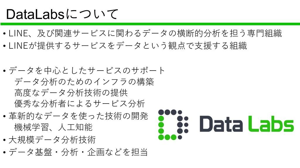 DataLabs • • • • N I • • LE