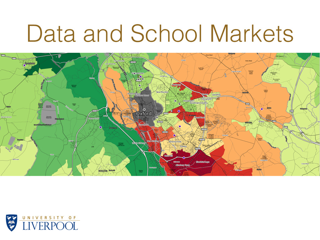 Data and School Markets