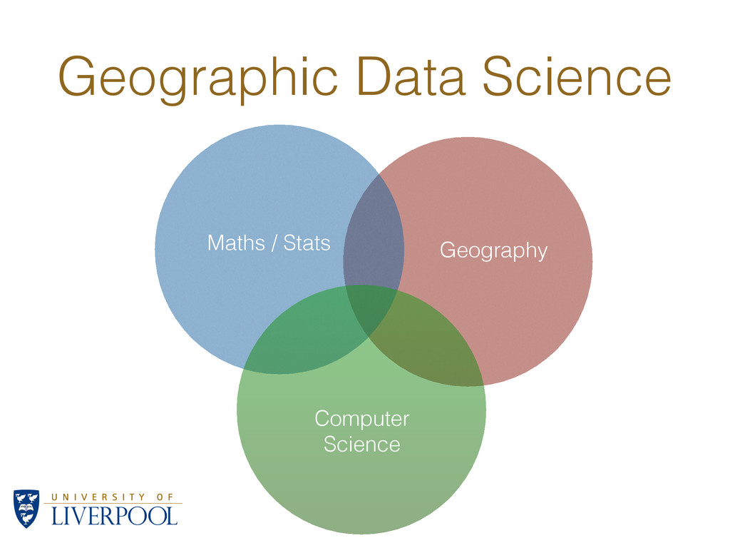 Maths / Stats Computer Science Geography Geogra...