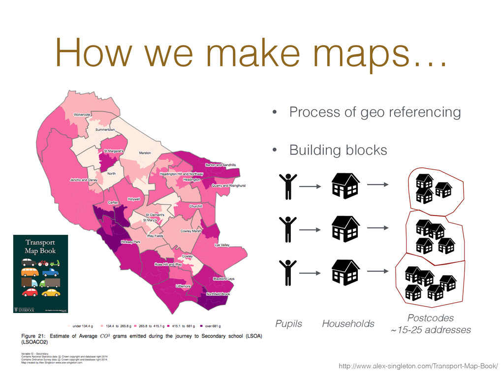 How we make maps… • Process of geo referencing ...