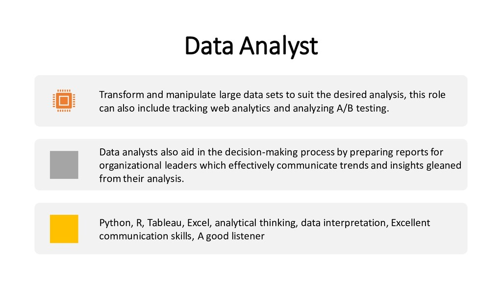 Data Analyst Transform and manipulate large dat...