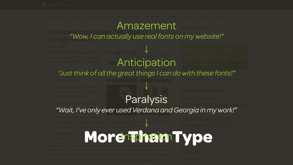 """Amazement """"Wow, I can actually use real fonts o..."""