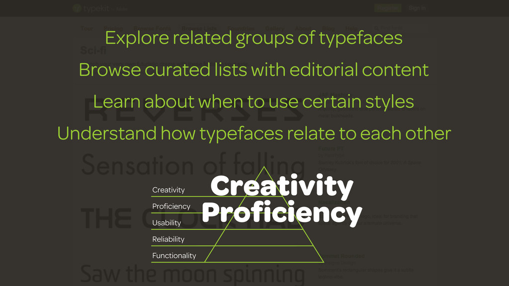 Explore related groups of typefaces Browse cura...