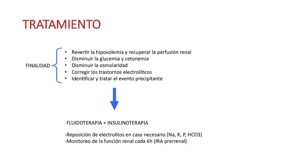 TRATAMIENTO FINALIDAD • Reveryr la hipovolemia ...
