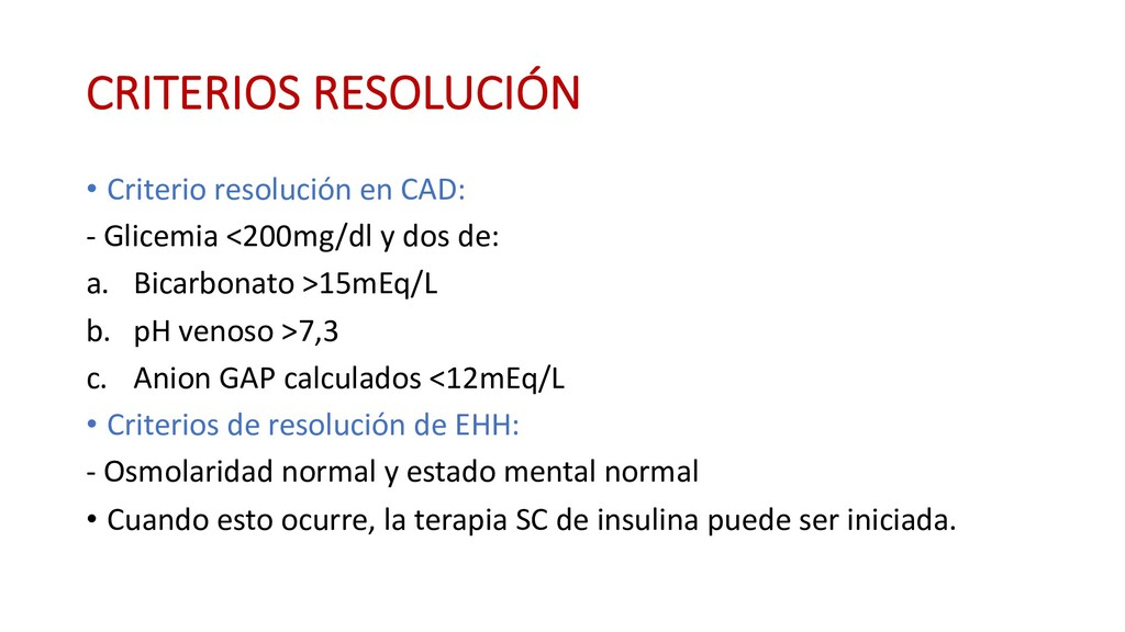 CRITERIOS RESOLUCIÓN • Criterio resolución en C...